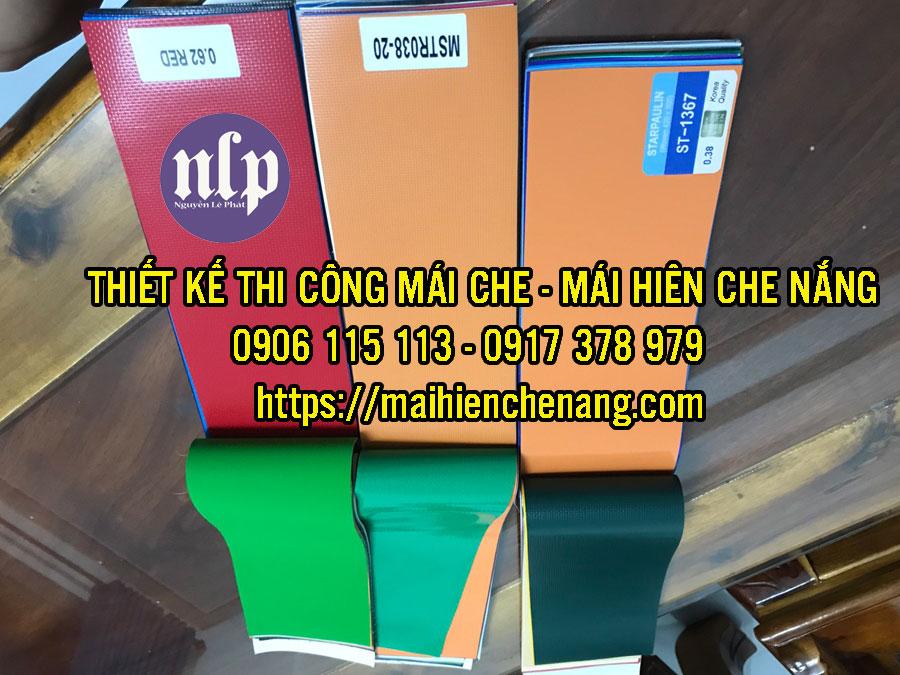 báo giá mái hiên di động, mái bạt che nắng mưa tự cuốn tại Bình Phước