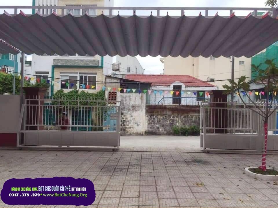 Báo Giá Mái Xếp Lượn Sóng Quán Cafe TPHCM