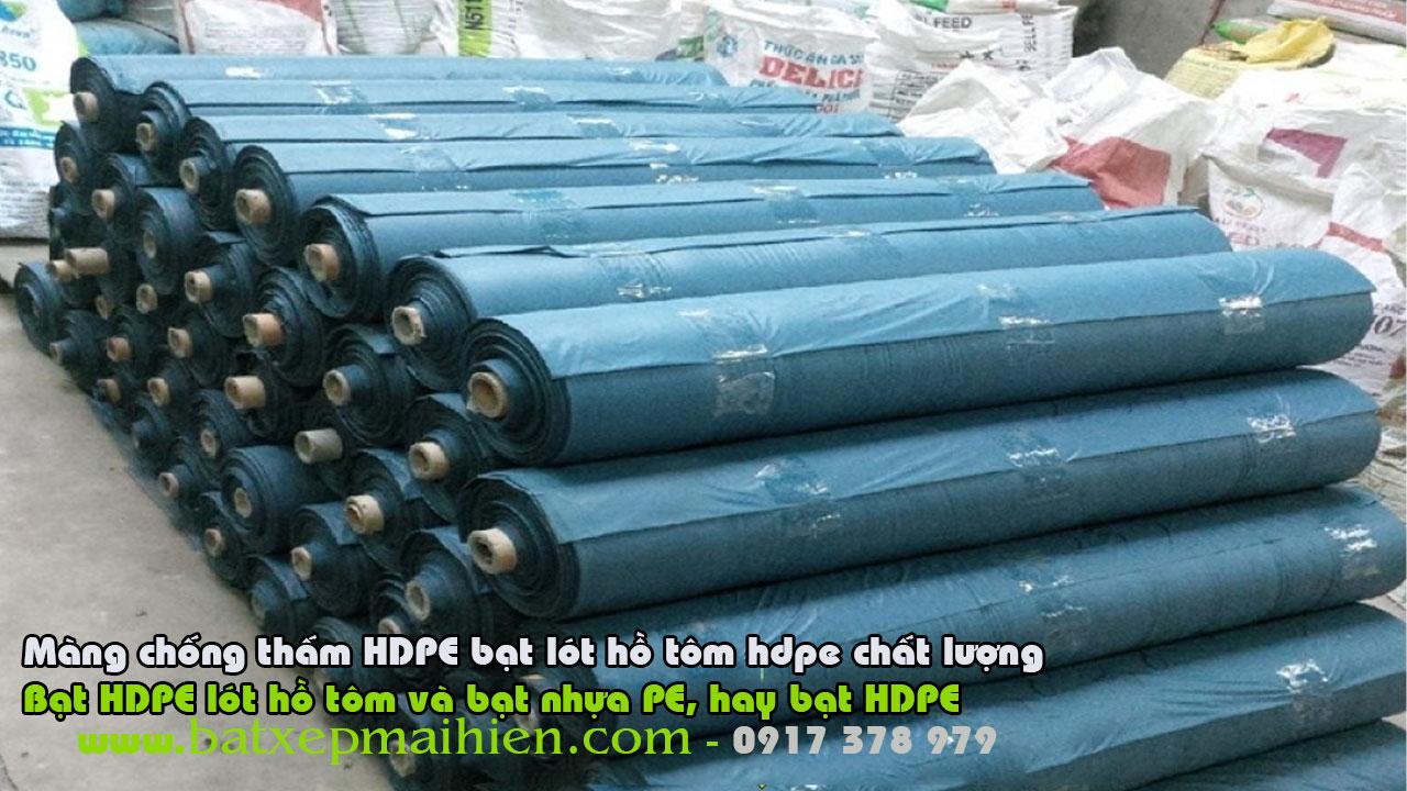 Đơn vị cung cấp màng chống thấm HDPE uy tín – ở đâu bán màng chống thấm HDPE uy tín