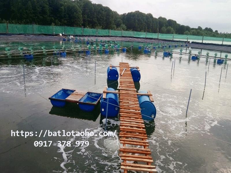Bảng giá bán lẻ bạt HDPE lót hồ tôm ao tôm nuôi trồng thủy sản