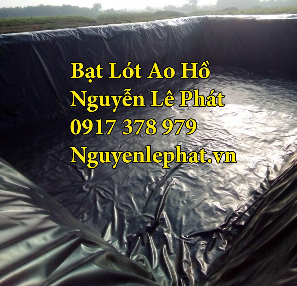 Bạt lót ao hồ chứa nước nuôi cá tại Cam Ranh