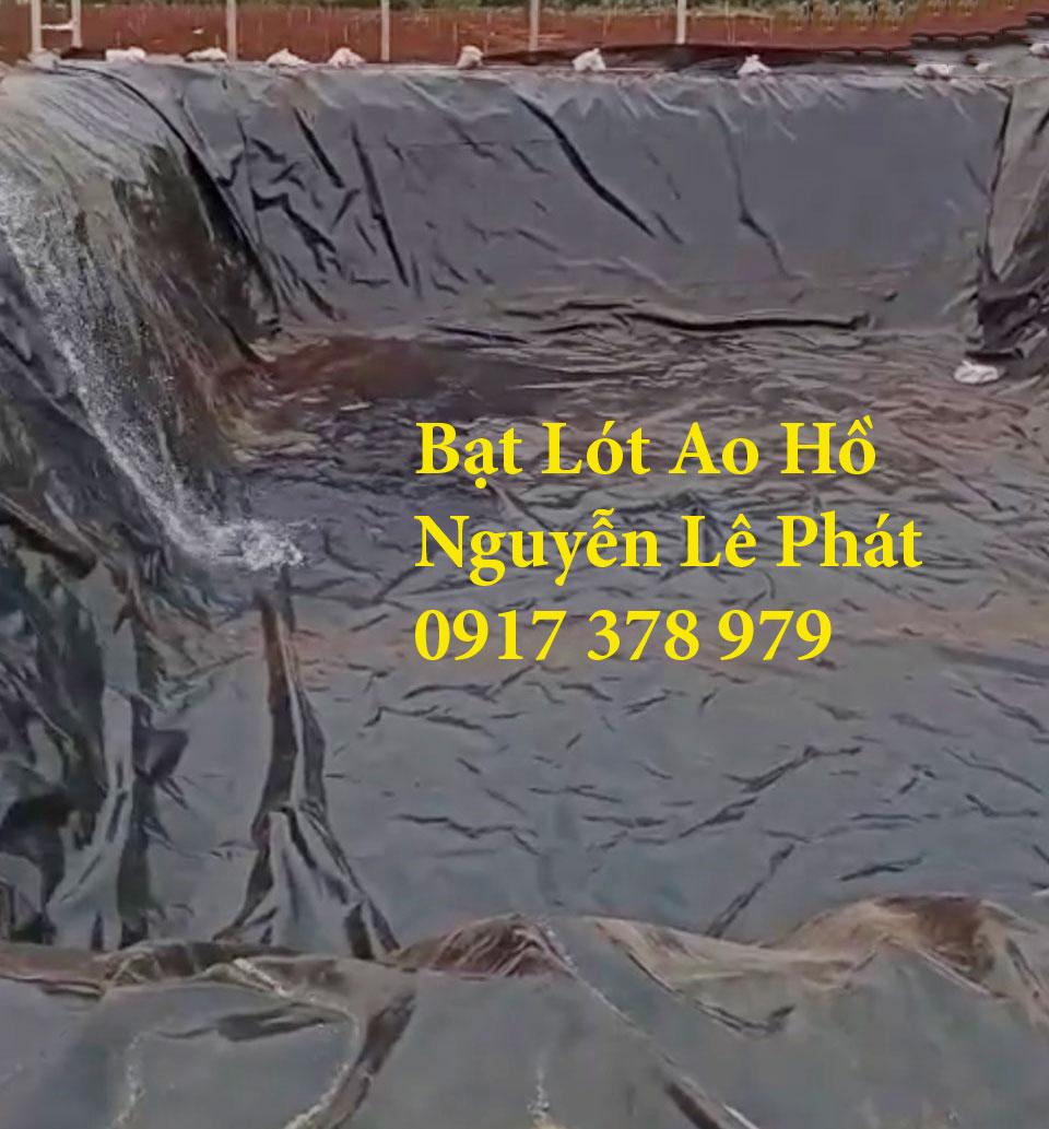 Bảng Giá Bán Lẻ Bạt HDPE Lót Ao Hồ Nuôi tôm ninh thuận