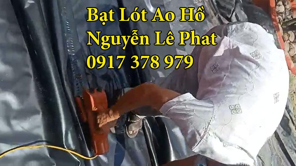 Bạt lót ao hồ nuôi cá Đồng Nai