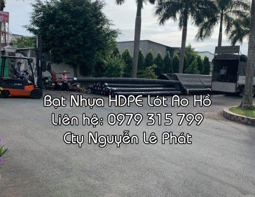Địa chỉ bán Bạt Lót Hồ Cá Tại TPHCM, Bạt Lót Bờ Ao giá rẻ TPHCM