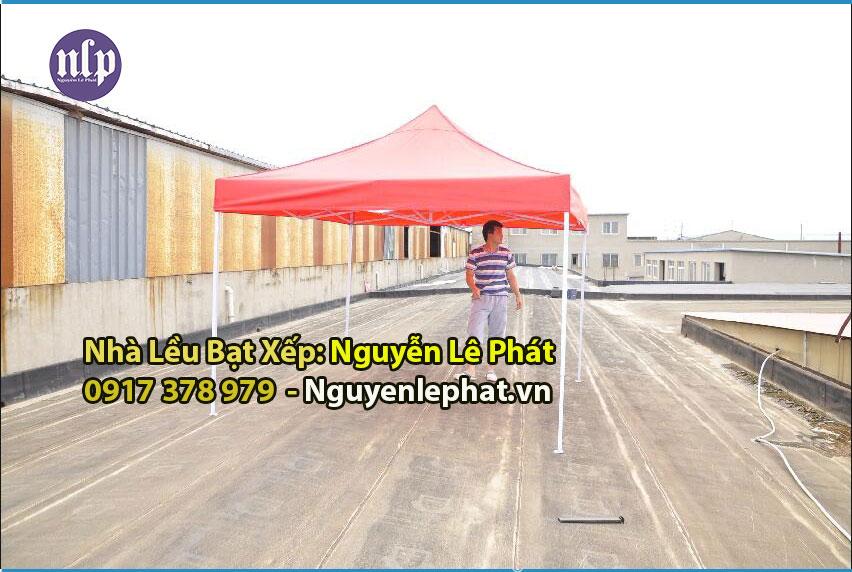 Nhà Bạt Lều Xếp Di Động TP HCM Giá Rẻ Bền Chịu Nắng