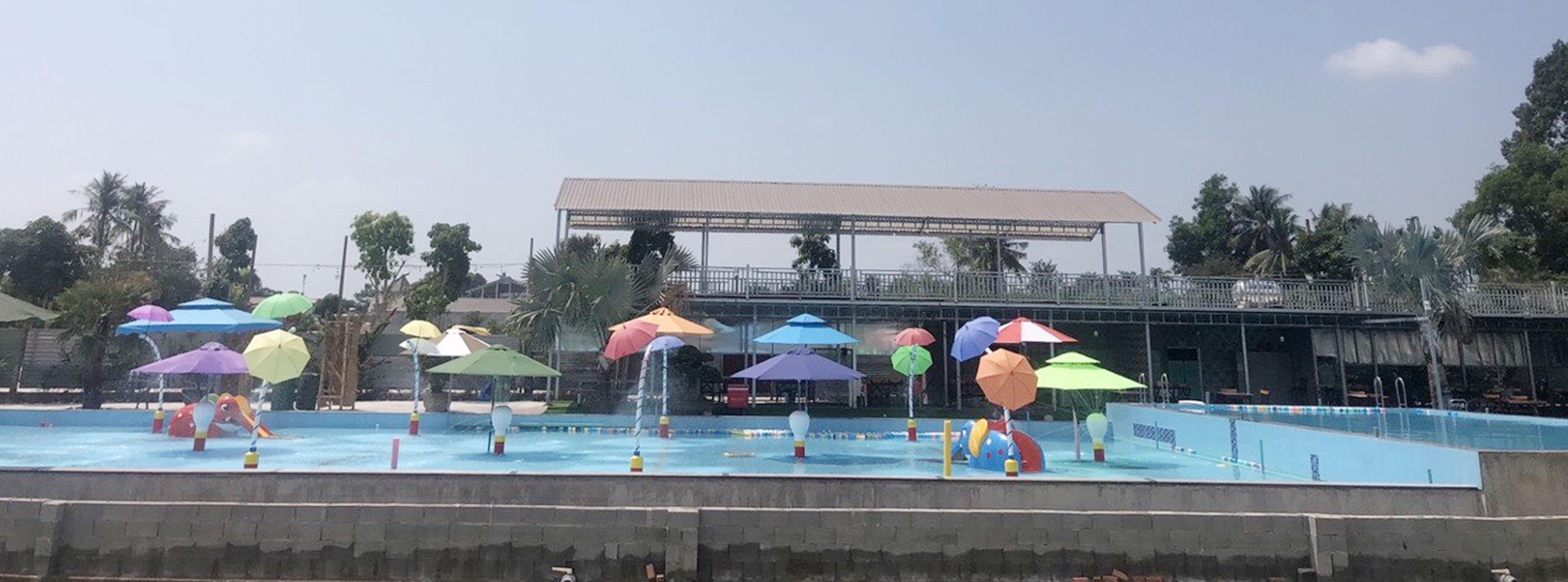 Phân phối số lượng lớn dù che nắng bãi biển hồ bơi resort giá rẻ