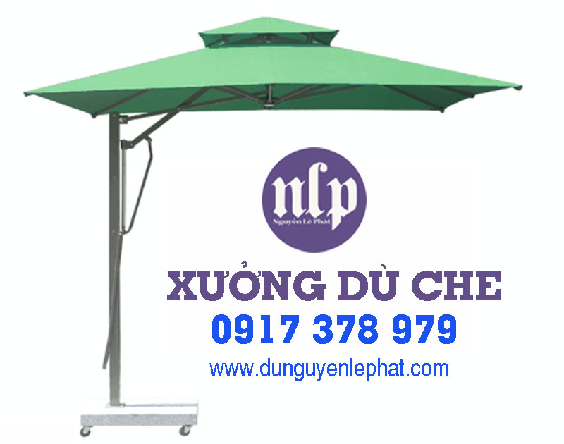 Bán Dù Che Nắng Cafe Sân Vườn tại Quận 2 TPHCM