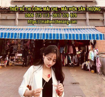 Mái Hiên Che Nắng, Mái Xếp Di Động Lượn Sóng Nha Trang Giá Rẻ
