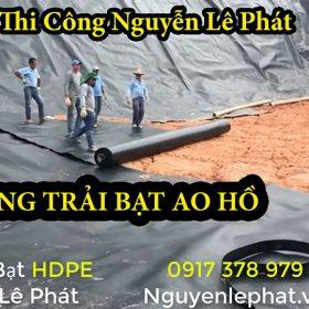 [Phú Yên] Bạt Lót Ao Hồ Chứa Nước Tưới Cây Nuôi Cá tại Phú Yên