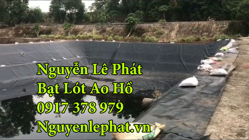 Bạt lót ao hồ chứa nước nuôi cá Trảng Bom Đồng Nai